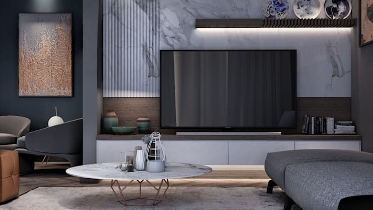 Living room by The Superstudio