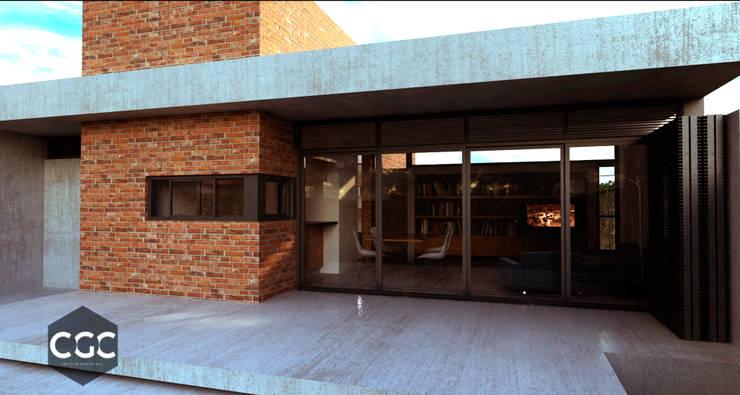 Casa 443: Casas de estilo  por Arquitectos CGC