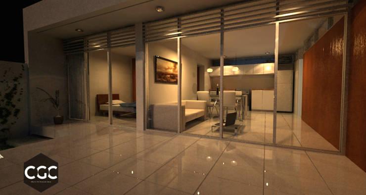Casa ARD: Casas de estilo  por Arquitectos CGC,