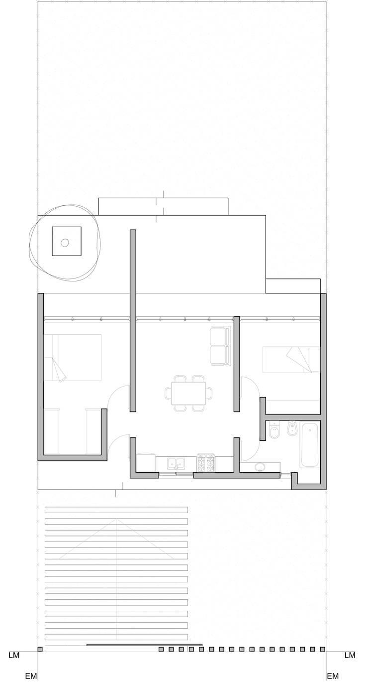 Casa ARD:  de estilo  por Arquitectos CGC,