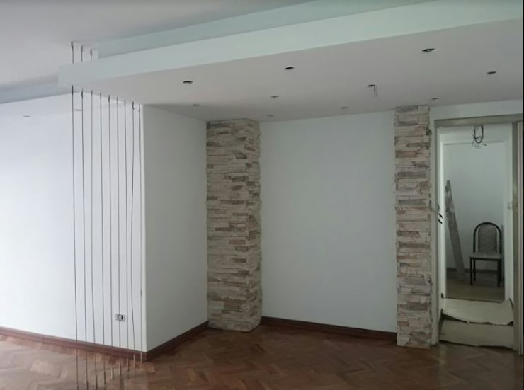 Diseño de Interior de Living en Palermo por 3G Arquimundo: Livings de estilo  por Arquimundo 3g - Diseño de Interiores - Ciudad de Buenos Aires