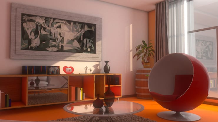 Salas de estilo  por Plano 13