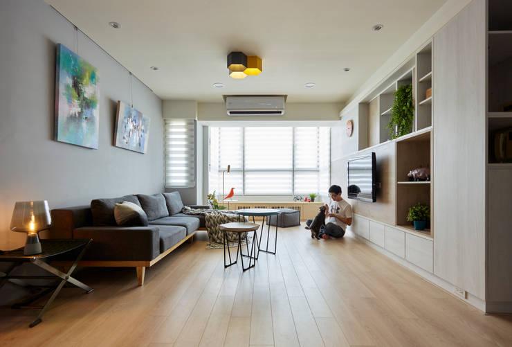 對話:  客廳 by 耀昀創意設計有限公司/Alfonso Ideas