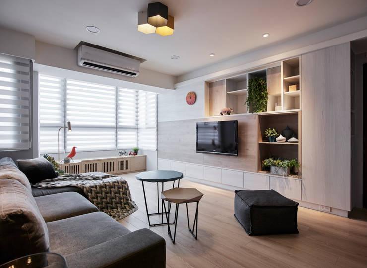 入:  客廳 by 耀昀創意設計有限公司/Alfonso Ideas