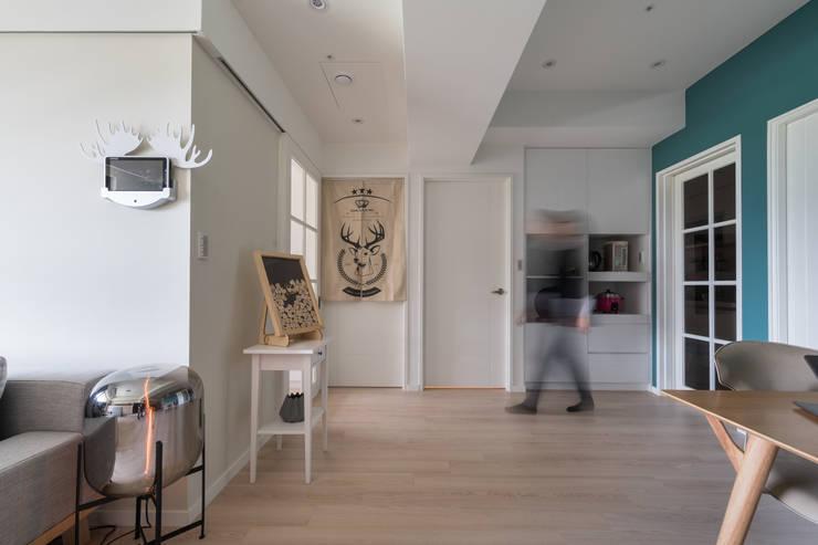 留學終點:  地板 by 耀昀創意設計有限公司/Alfonso Ideas