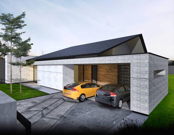JP House:  Rumah kayu by Atelier BAOU+