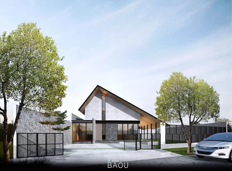 RM House:  Villa by Atelier BAOU+