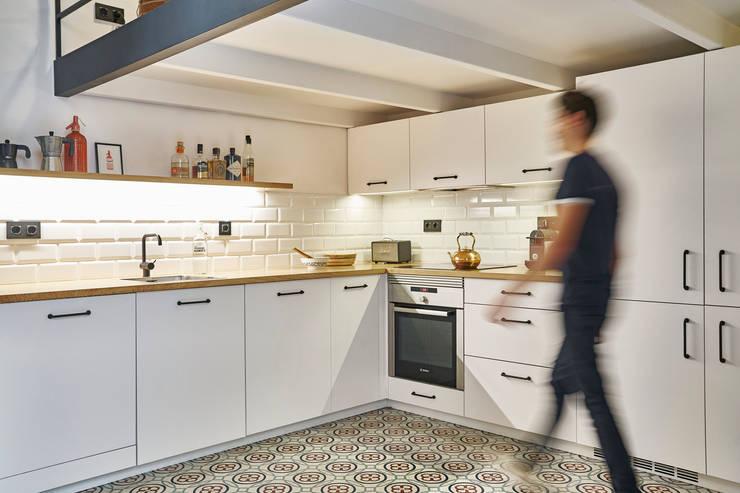 Diseños de cocinas modernas en Barcelona