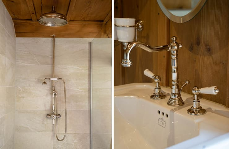 Badezimmer Im Chaletstil By Traditional Bathrooms Gmbh Homify