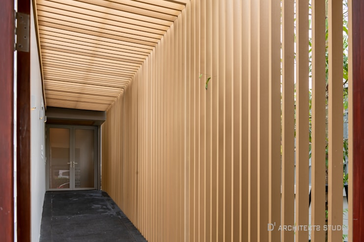 LINEAGE HOUSES:  กำแพง by D' Architects Studio
