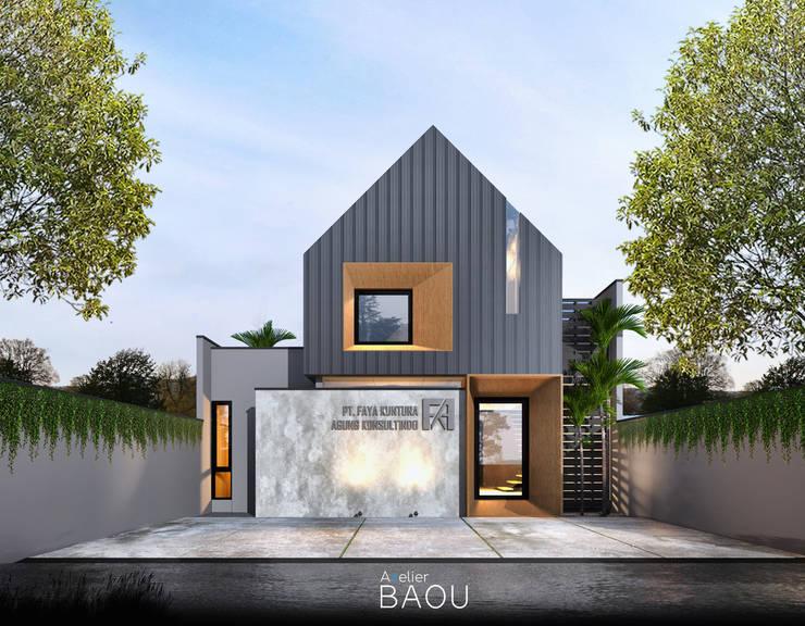 FKA Office _ Bandung:  Kantor & toko by Atelier BAOU+