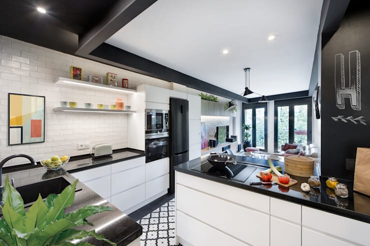 Kitchen by Egue y Seta, Eclectic