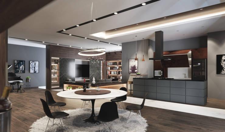.:  Dining room by Studio Gritt