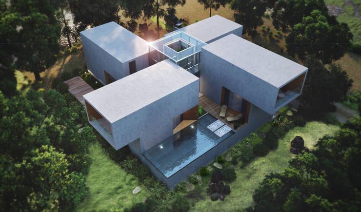 -: modern Houses by Studio Gritt