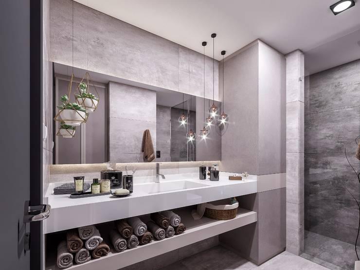 ANTE MİMARLIK  – Banyo aksesuarları:  tarz Banyo