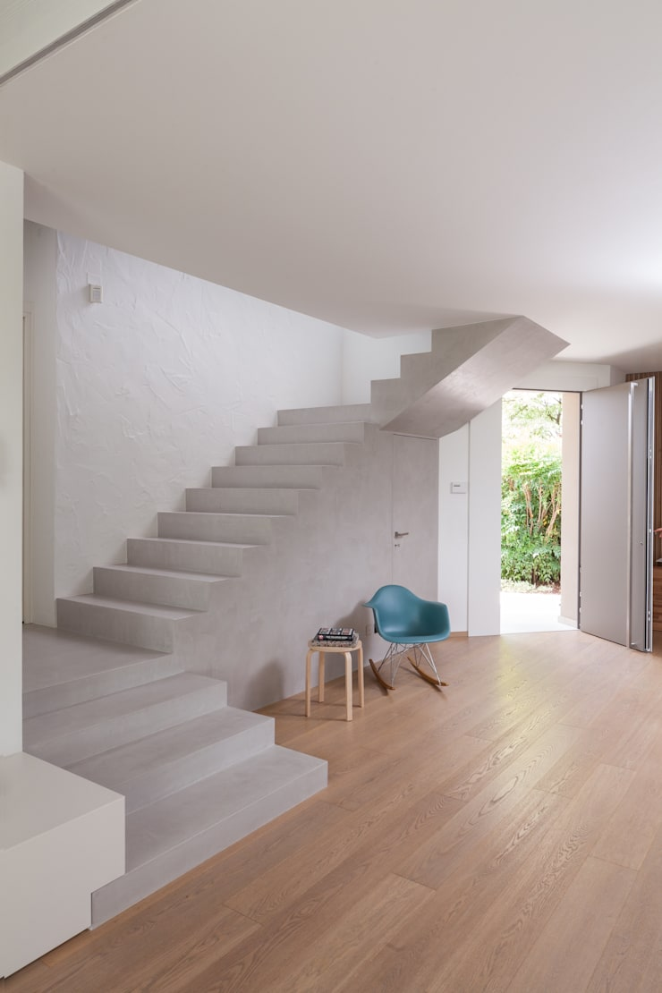 Tangga oleh Didonè Comacchio Architects, Minimalis Beton