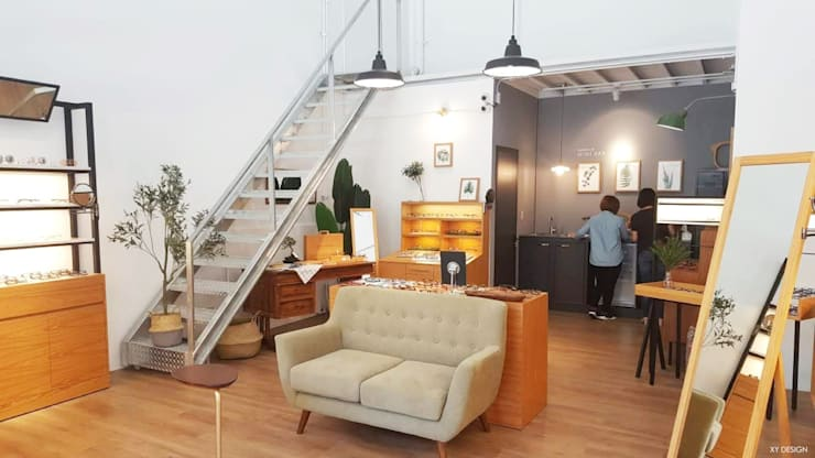 Office spaces & stores  by XY DESIGN - XY 設計