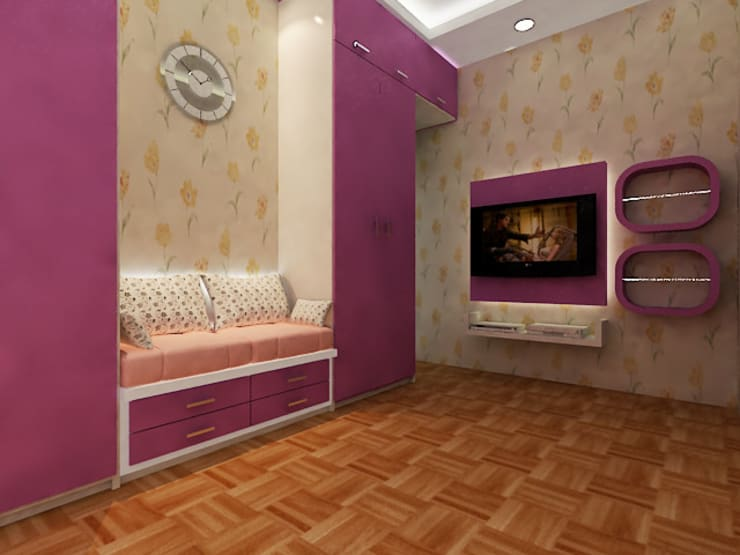 Interior Siak sari - Pekanbaru:   by RF Arch & Design
