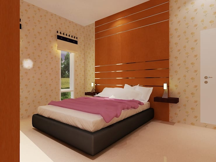 Interior The royal no. 12 – Pekanbaru:   by RF Arch & Design
