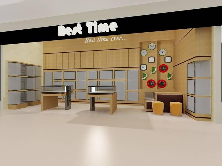 Interior Toko Best Time - Sadira Plaza - Pekanbaru:   by RF Arch & Design