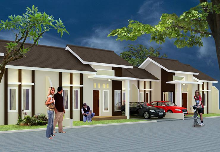 Perumahan Maya Asri - Pekanbaru:   by RF Arch & Design