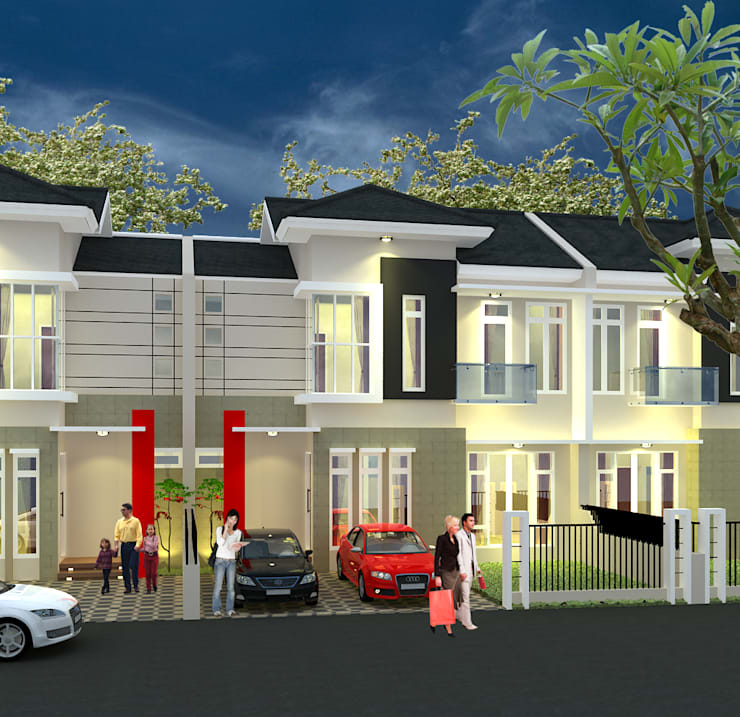 Vila Pelangi - Pekanbaru:   by RF Arch & Design