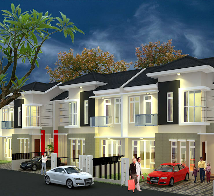 Vila Pelangi – Pekanbaru:   by RF Arch & Design