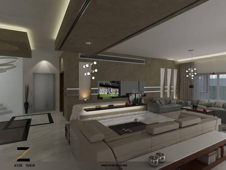 Single family home by ZAYED Studio