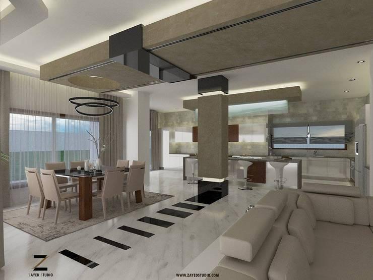 modern Dining room by ZAYED Studio