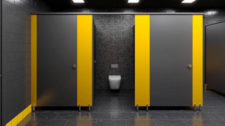 Gimnasios  de estilo  por Dündar Design - Mimari Görselleştirme