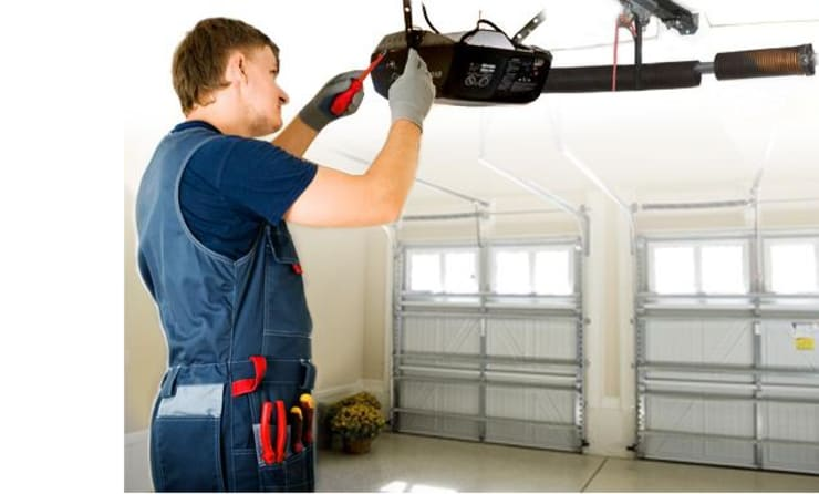 #1 Repairing a faulty garage door:   by Absolute Garage Doors