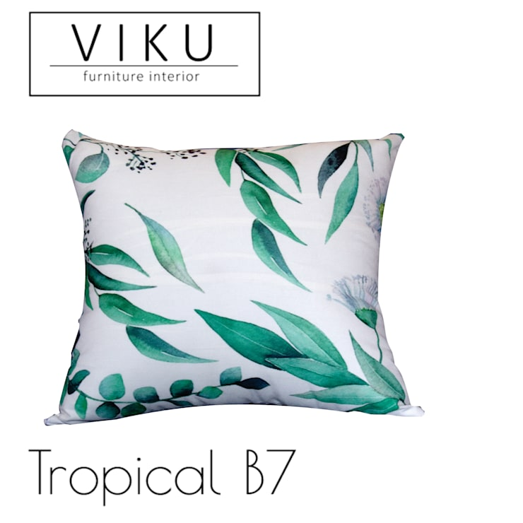 Tropical pillow B7:  Bedroom by viku