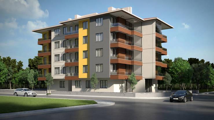 Maisons modernes par Dündar Design - Mimari Görselleştirme Moderne