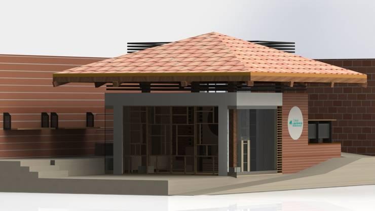 Tienda 1: Render de la Propuesta de Intervención:  de estilo  por MARROOM | Diseño Interior - Diseño Industrial
