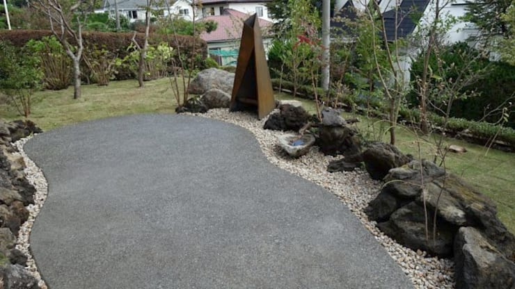施工後: 庭や煌久が手掛けたです。