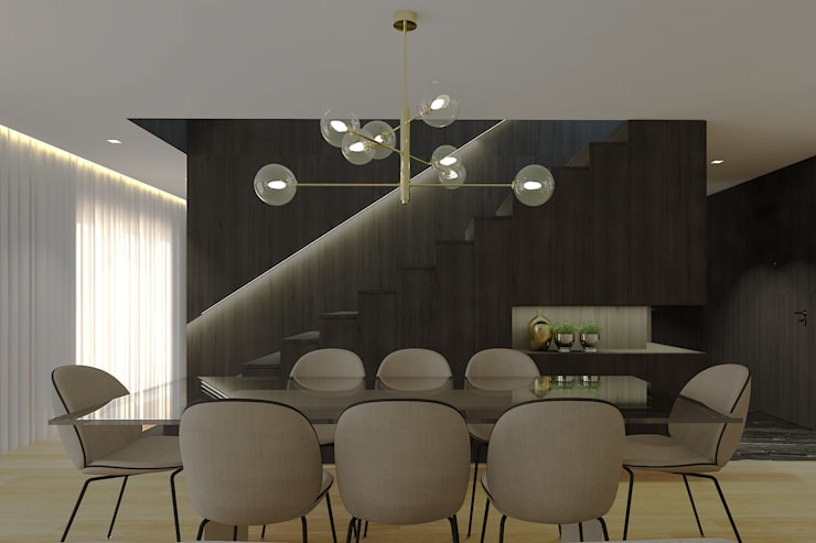 Dining room by 411 - Design e Arquitectura de Interiores