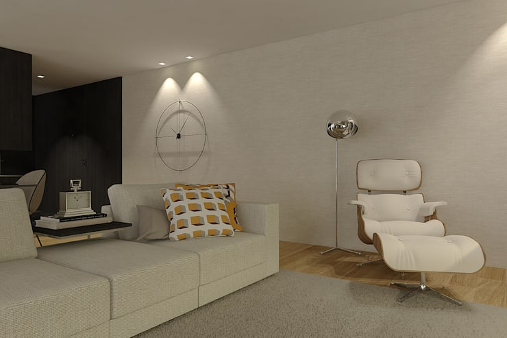 Living room by 411 - Design e Arquitectura de Interiores