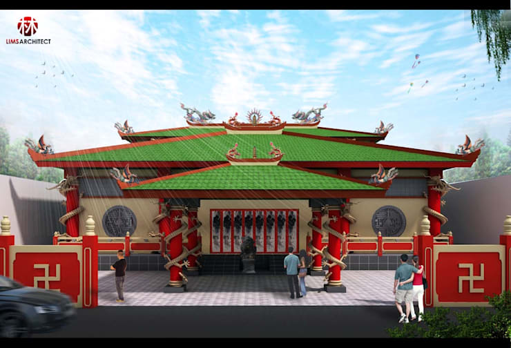 Avalokitesvara Temple Tj.Balai:  Venue by Lims Architect