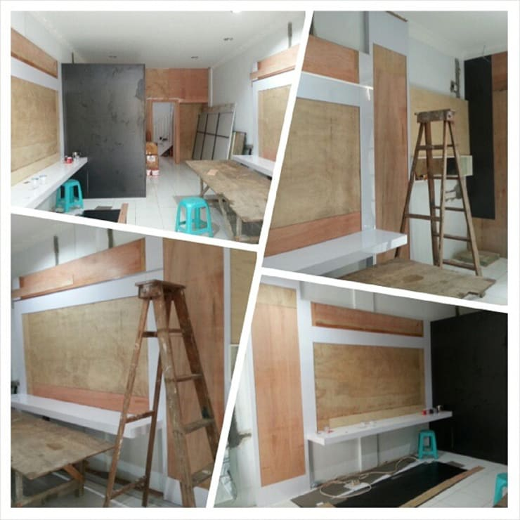 Proses Renovasi:   by Lims Architect