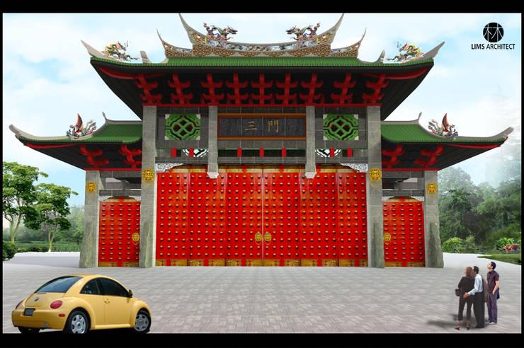 Gerbang Vihara Avalokitesvara Siantar City:   by Lims Architect