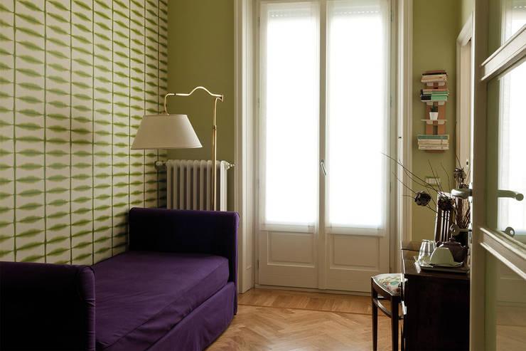 в . Автор – Le zie di Milano, Скандинавский Твердая древесина Многоцветный