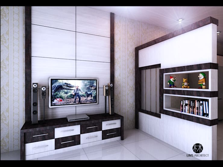 Serdang Residence Interior Furniture:   by Lims Architect