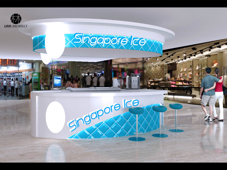 Singapore Ice Sun Plaza :   by Lims Architect