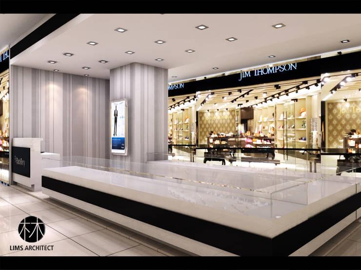 Handphone store Medan fair:   by Lims Architect