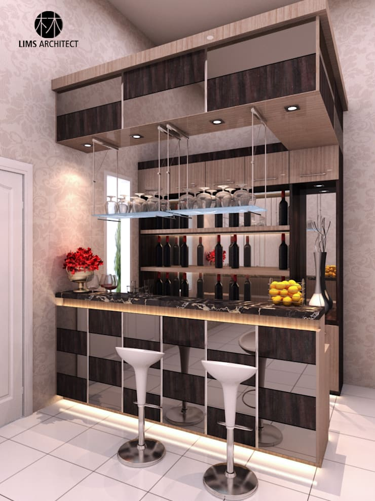 MiniBar Design:   by Lims Architect
