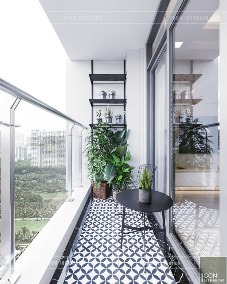 Phong cách hiện đại trong thiết kế nội thất căn hộ Vinhomes Central Park:  Vườn by ICON INTERIOR
