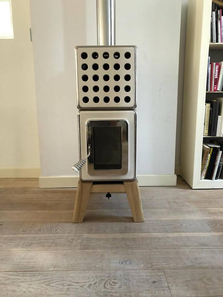Cubi Stack Special Edition:  Woonkamer door Art of Fire, Modern Keramiek