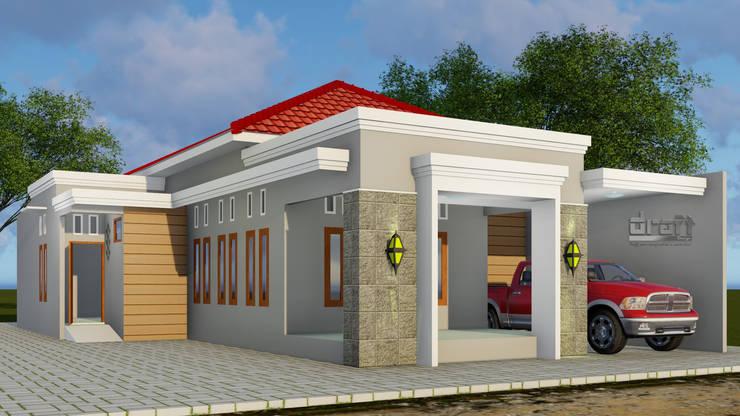 Rencana Rehab rumah tinggal:   by Draft Karya