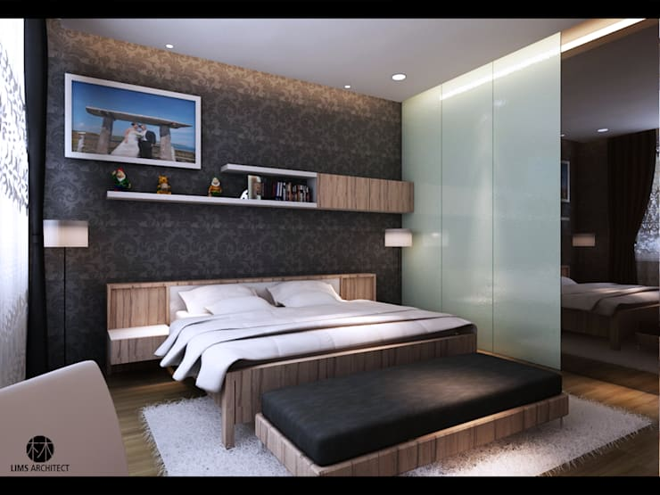 Master Room 1:   by Lims Architect