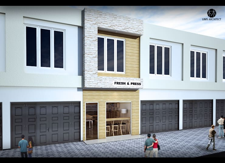 Fresh & Press Medan:   by Lims Architect